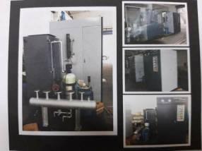 Caldera de vapor eléctrica 500 kg