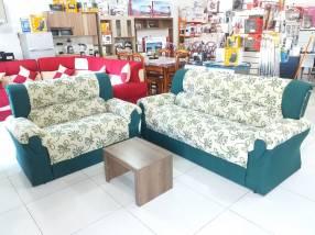Sofa loren 3 x 2 cuerina (569)