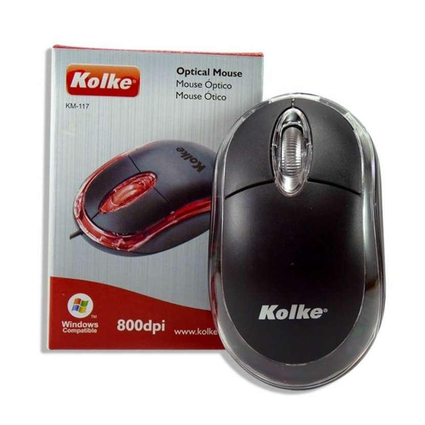 Mouse km-117 usb (mouse kolke km112) - 0
