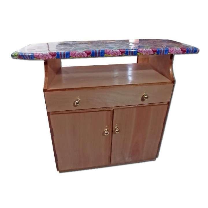 Mesa de planchar de madera nar - 1