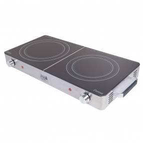 Cocina vitrocerámica jam 2 quemadores donna 3000vc 10228