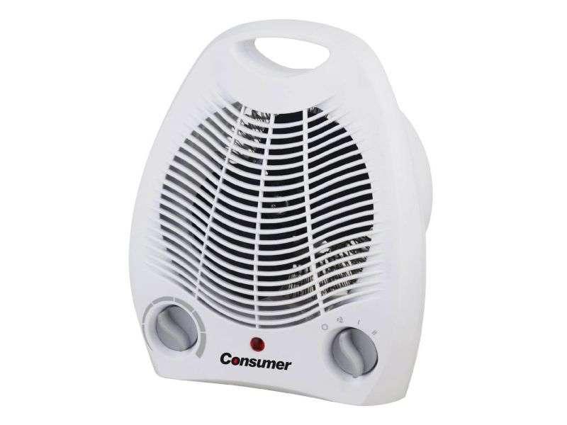Estufa eléctrica con ventilador consumer - 0