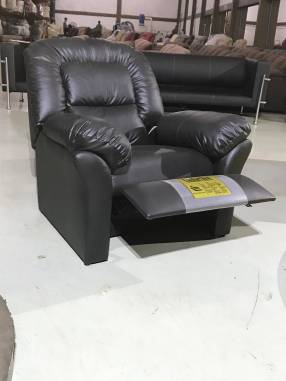 Poltrona ecoleather reclinable vibromasajeador 646
