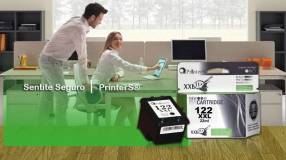 Cartucho 122 negro xl printers p/ hp