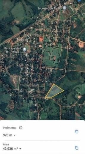 Quinta de 6 hectáreas en Trinidad Itapúa