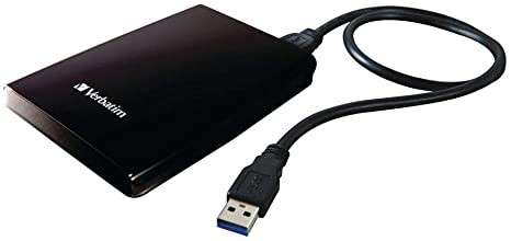 Disco portable externo 1 tera 3.0 Verbatim - 1