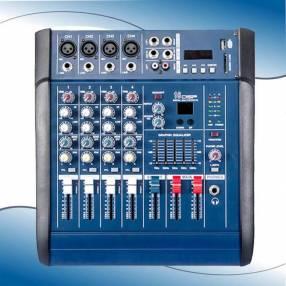 Consola analógica amplificada