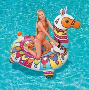 Salvavidas Flotador inflable Llama Bestway