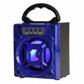 Parlante inalámbrico kolke boxy kpp-227 azul