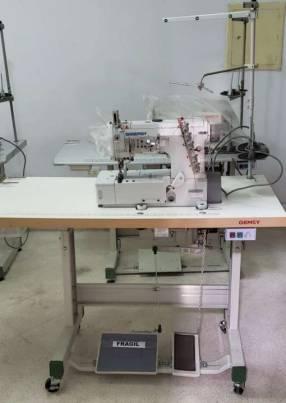 Máquina de coser industrial collareta Gemsy