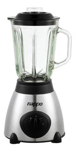 Licuadora 1,5l jarra de vidrio nappo nel-057