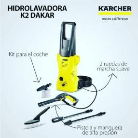 Vaporizador hidrolavadora y aspiradora Kärcher