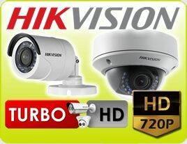 Instalación de 4 cámaras Hikvision hd