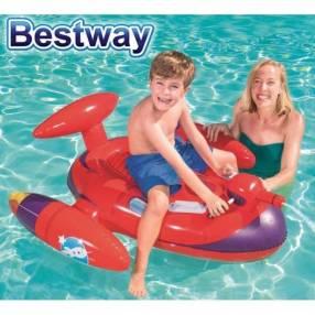 Salvavidas inflable nave espacial para niños Bestway