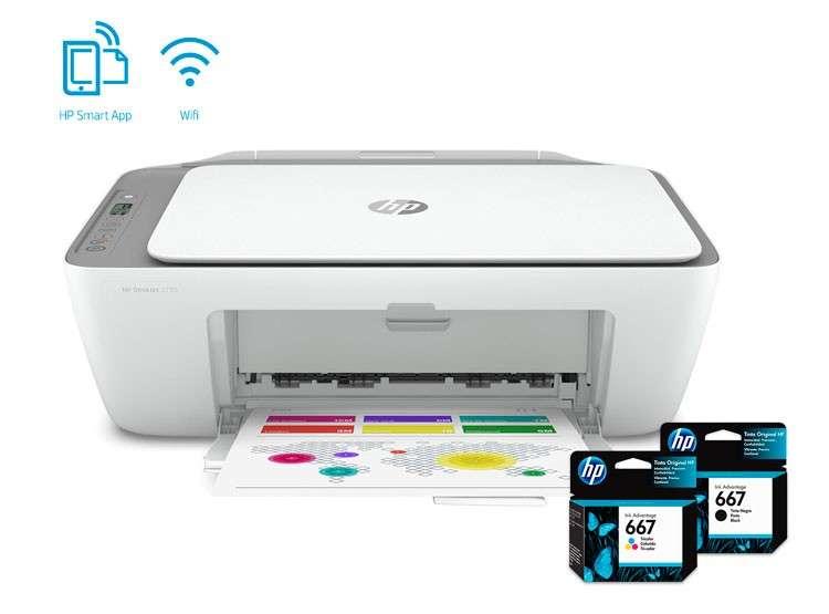 Impresora multifunción HP 2775 wifi - 0