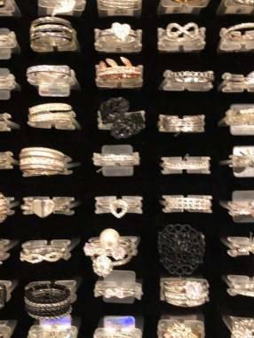 Anillos con cristales de Swarovski