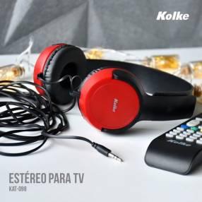 Auricular estéreo para tv