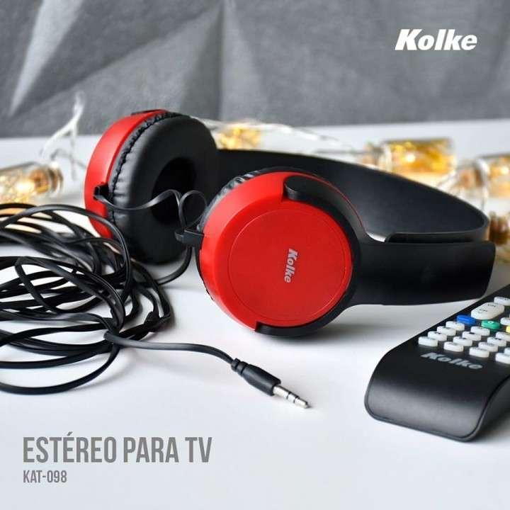 Auricular estéreo para tv - 1