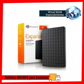 Disco duro externo 1tb seagate 3.0 negro