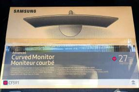 Monitor Samsung 27 pulgadas Curvo F591 nuevos