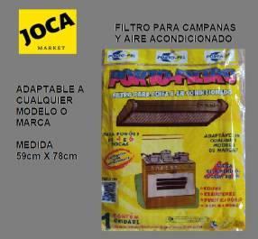Filtro para Cocina, para Campanas y Aires