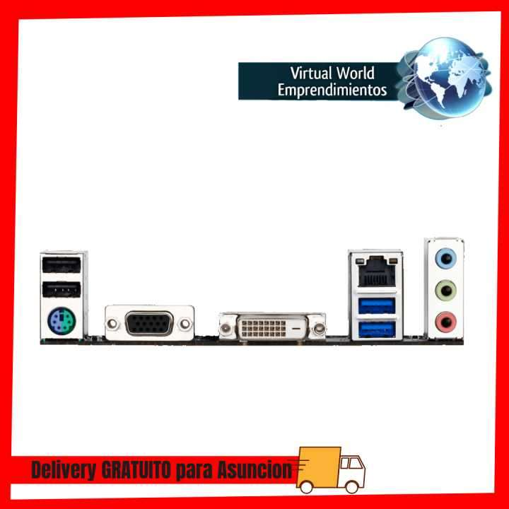 Placa madre Gigabyte 1151 H110M-DS2V - 1