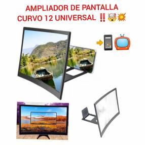 Ampliador de pantalla universal curvo 12 pulgadas