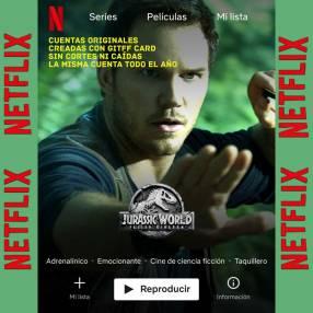Cuentas Premium Netflix