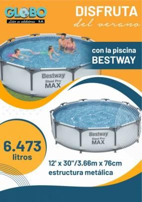 Piscina Bestway 6473 litros