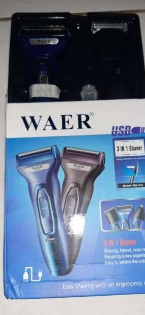 Afeitadora 3 en 1 Waer
