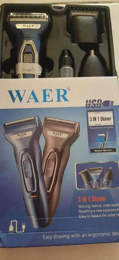 Afeitadora 3 en 1 Waer - 4