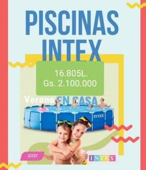 Piscinas Intex de 16.805 litros