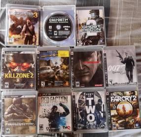 Juegos y controles de PS3