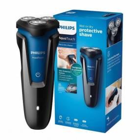 Barbeador eléctrico Philips AquaTouch S-1030 bivolt