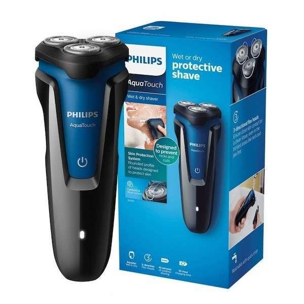 Barbeador eléctrico Philips AquaTouch S-1030 bivolt - 1
