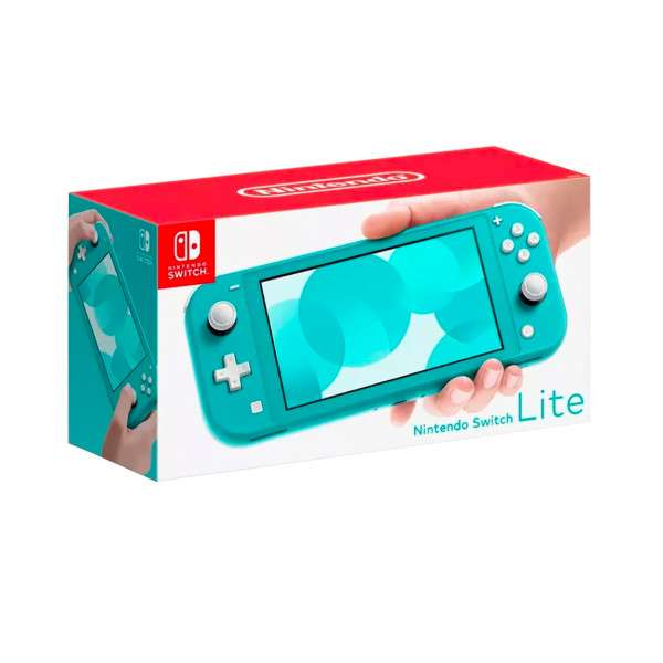 Consola Nintendo Switch Lite turquesa - 2