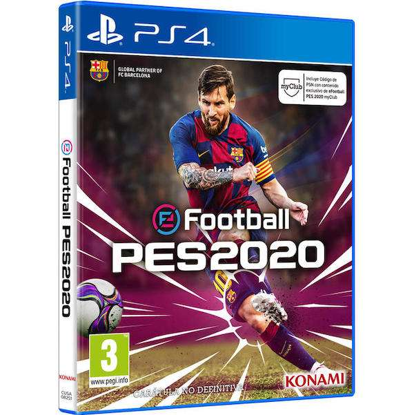 Juego eFootball PES 2020 para PS4 - 0