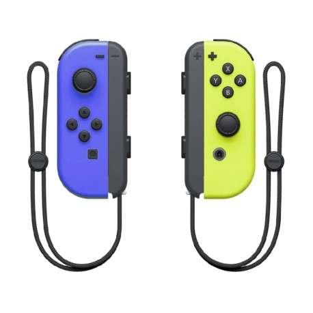 Controles Joy-Con para Nintendo Switch azul y amarillo - 1