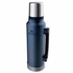 Termo Stanley Classic 1.4 litros azul noche pico matero