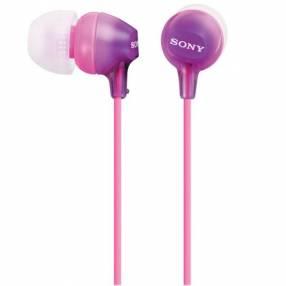 Auricular Sony MDR-EX15LP - Lila