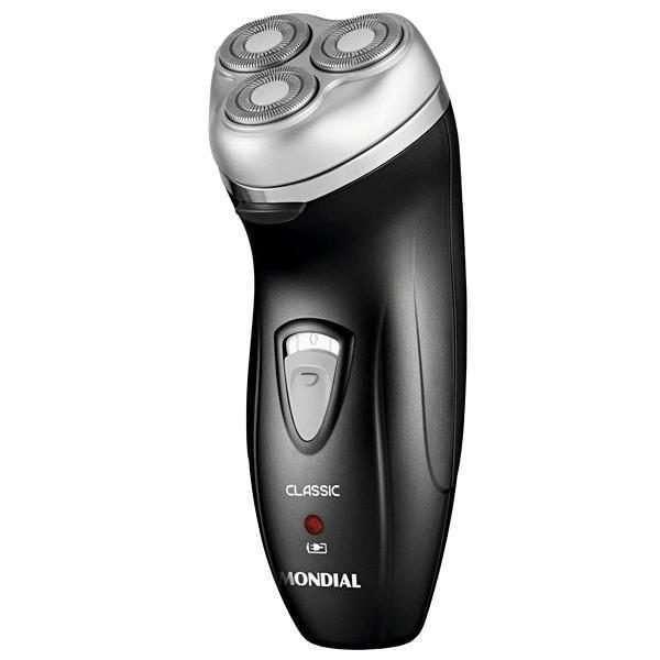 Barbeador Mondial Classic NBE-01 bivolt recargable - 2