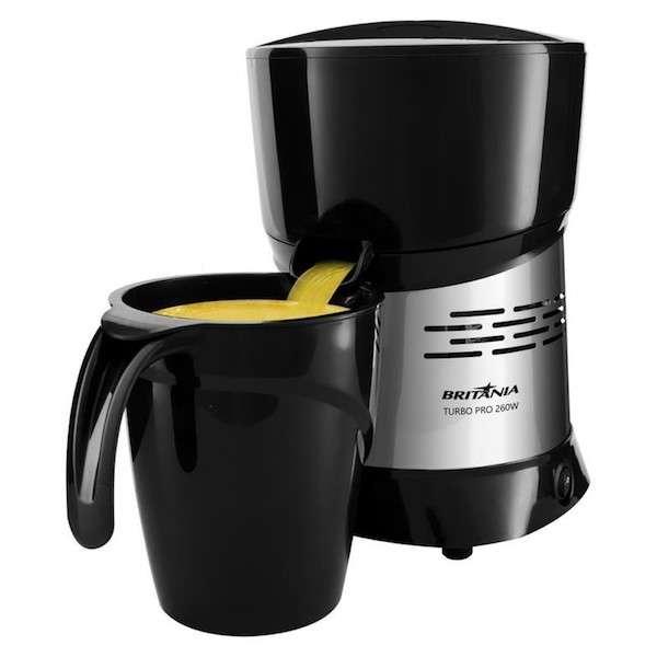 Exprimidor Britania Turbo Pro jarra 1.3 litros negro - 1