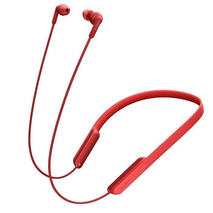 Auricular Sony MDR-XB70BT - Rojo - 1