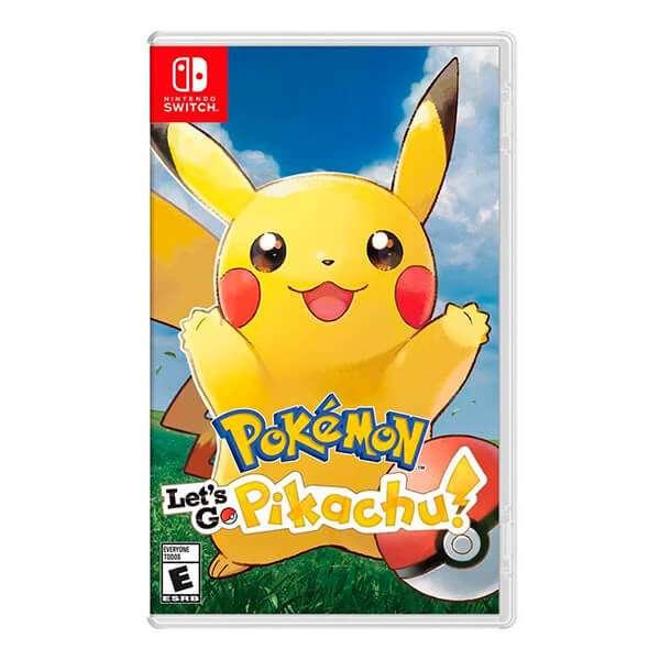 Juego Pokemon Lets Go Pikachu para Nintendo Switch - 1