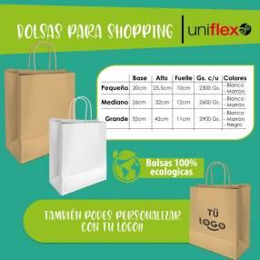 Bolsas de papel para shopping