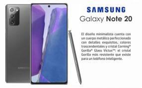 Samsung Galaxy Note 20 de 256 gb