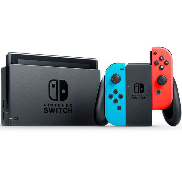 Consola Nintendo Switch Neón V2 2019 - 2