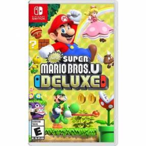 Juego Super Mario Bros U Deluxe para Nintendo Switch