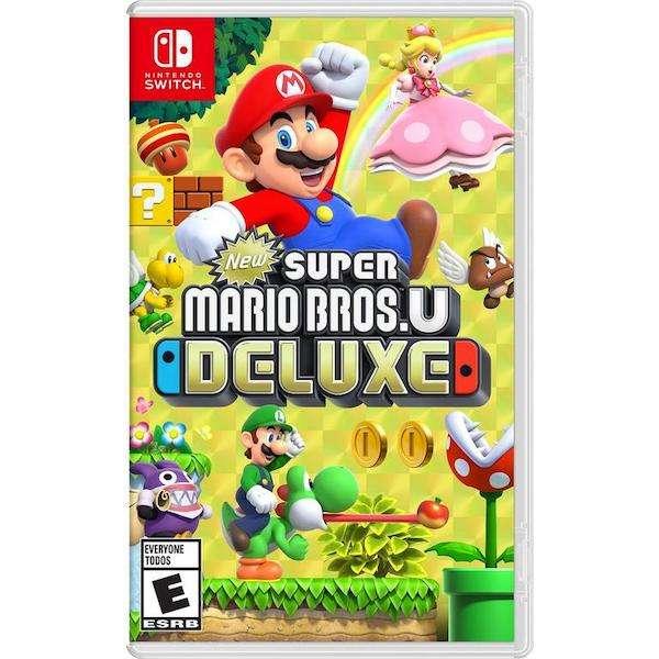 Juego Super Mario Bros U Deluxe para Nintendo Switch - 0