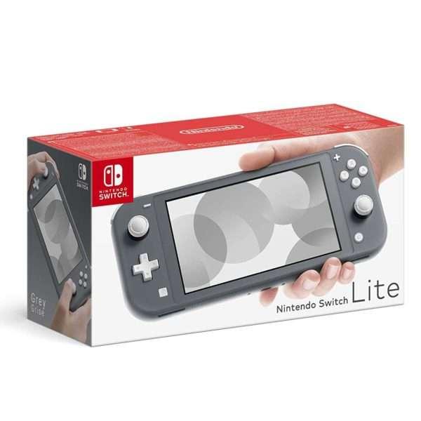 Consola Nintendo Switch Lite gris - 3